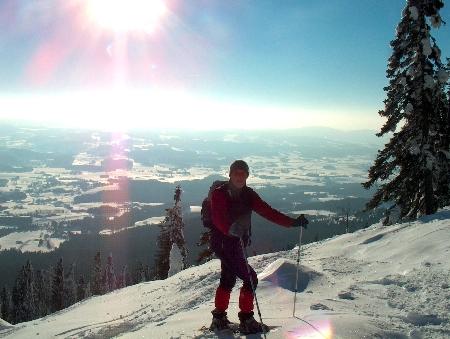 Schneeschuhwandern Bayerischer Wald Schneeschuhtouren ...